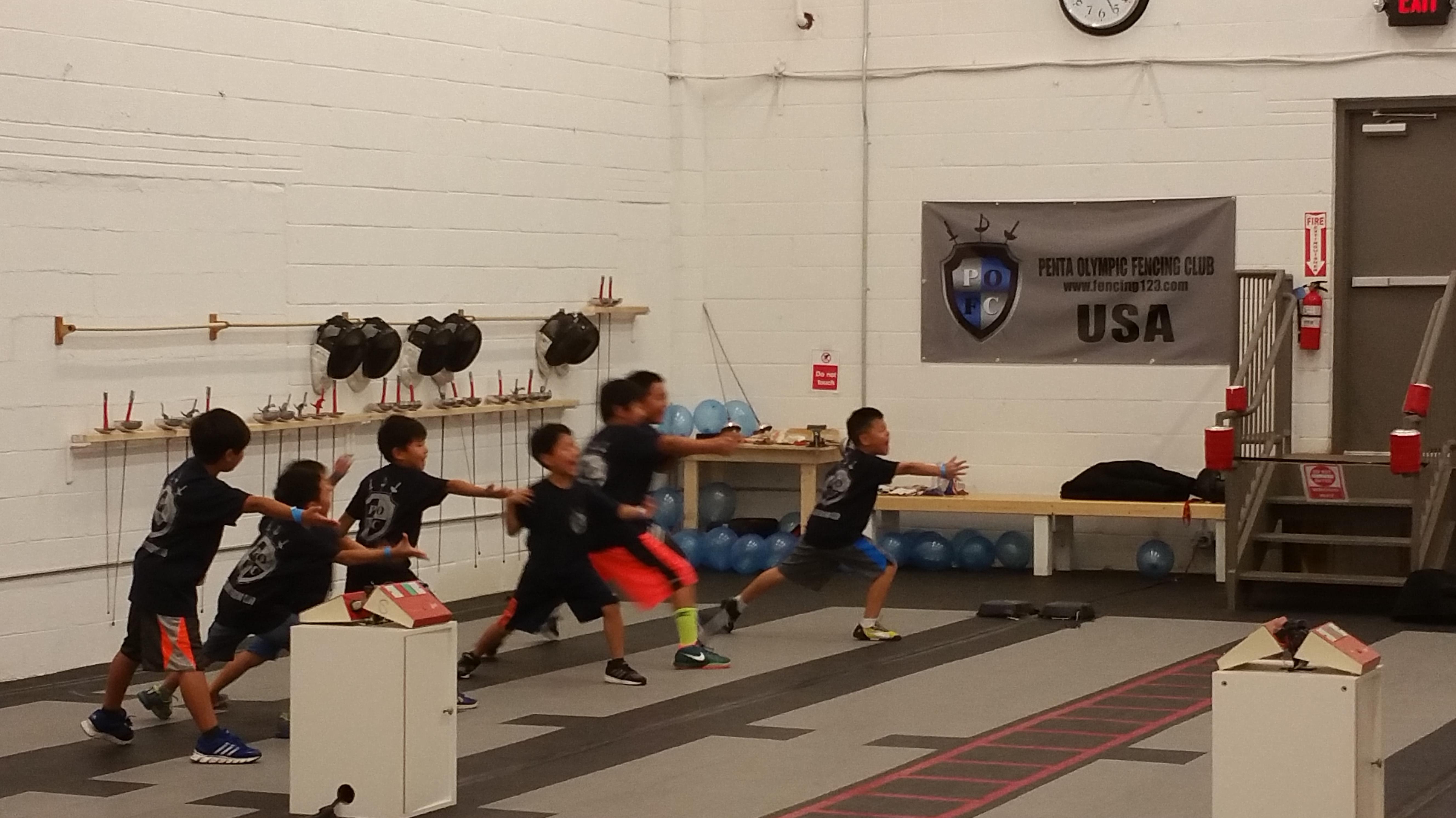 Penta Olympic Fencing Club Fairfax Va