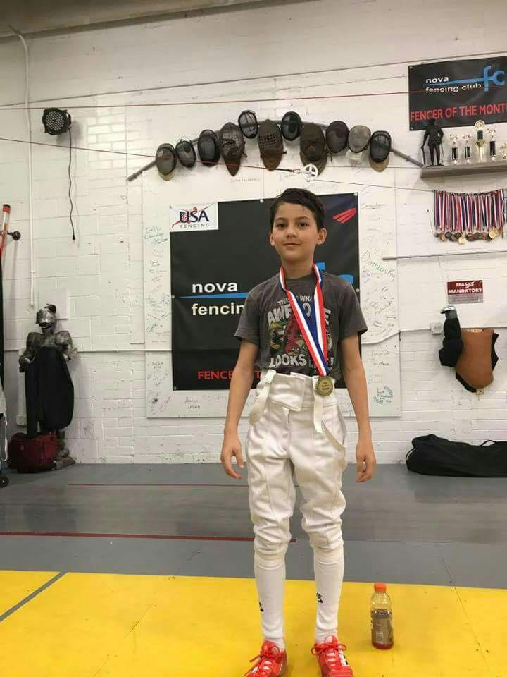 Results In October 2017 Penta Olympic Fencing Club