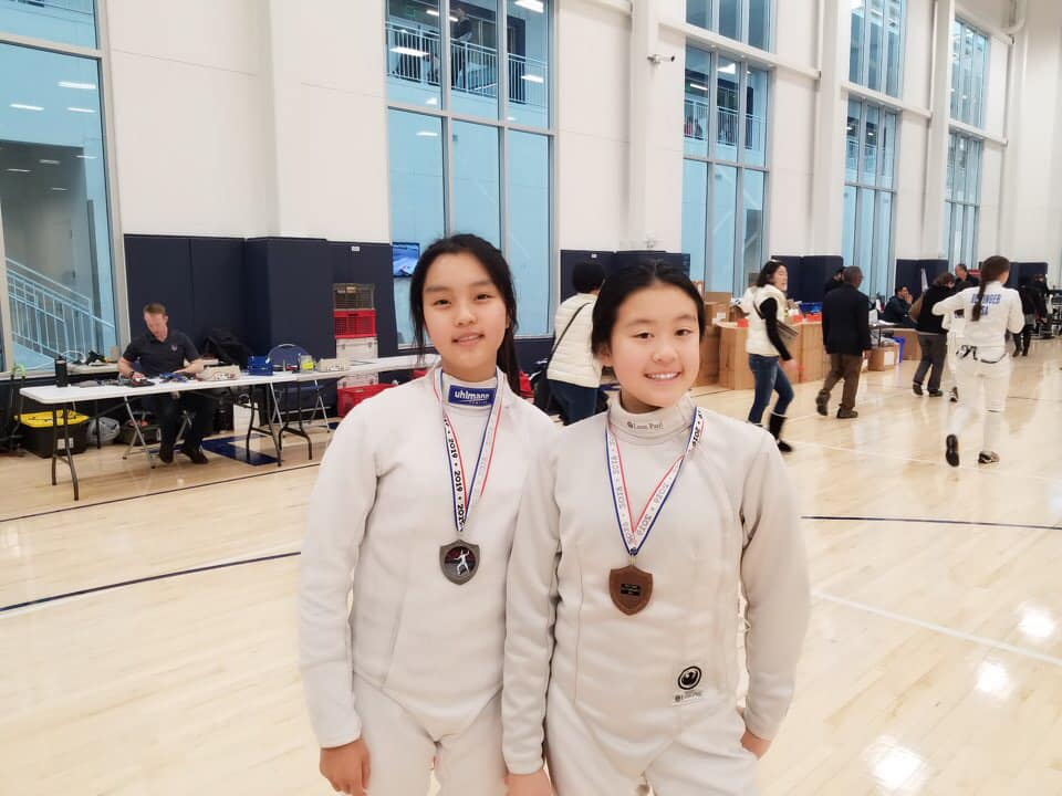Result January 2019 Penta Olympic Fencing Club